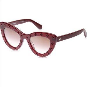 NEW Kate Spade Luann Cat Eye Retro Sunglasses
